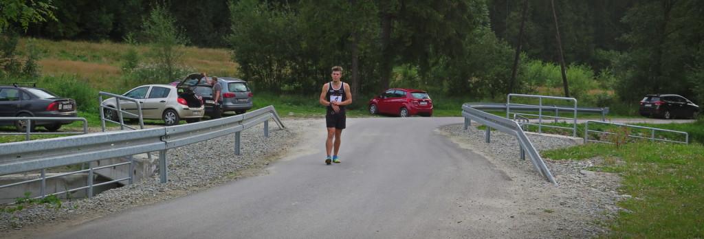 Start biegu na Turbacz