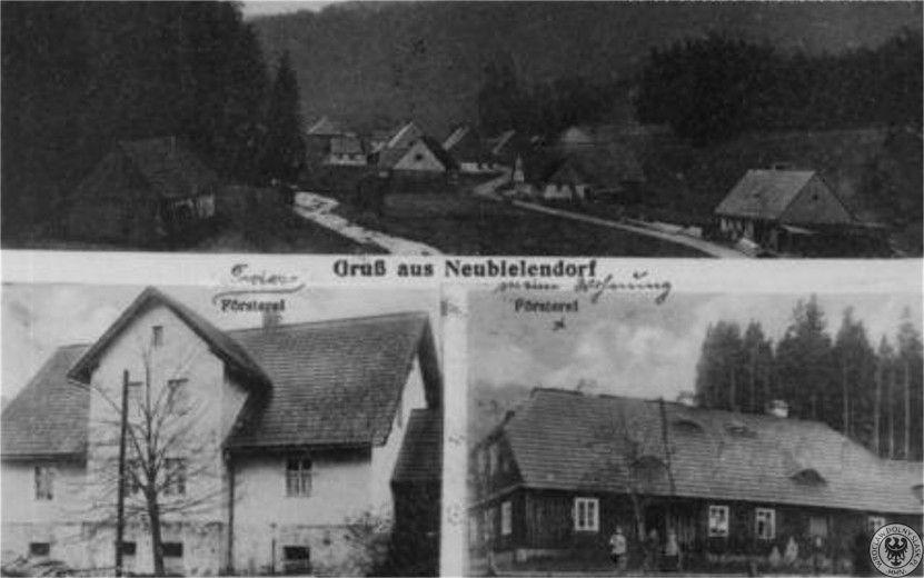 Leśniczówka Bielice w latach 1900-1945. Fot. dolny-slask.org.pl