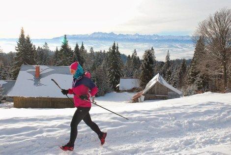 Tatry prawie na wyciągnięcie ręki - Icebug gwarantuje syte widoki. Foto Wojtek Stolarczyk