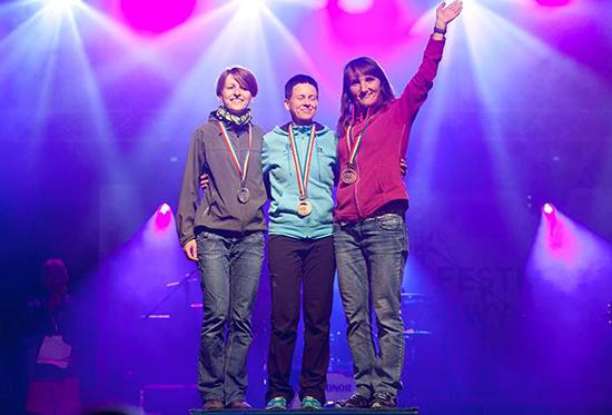 Justyna w tym sezonie dała do wiwatu, zajmując m.in. trzecie miejsce w Biegu Siedmiu Dolin. Moc jest.