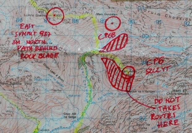 ARWC Szkocja - jak widać, dużo otwartego, skalistego terenu
