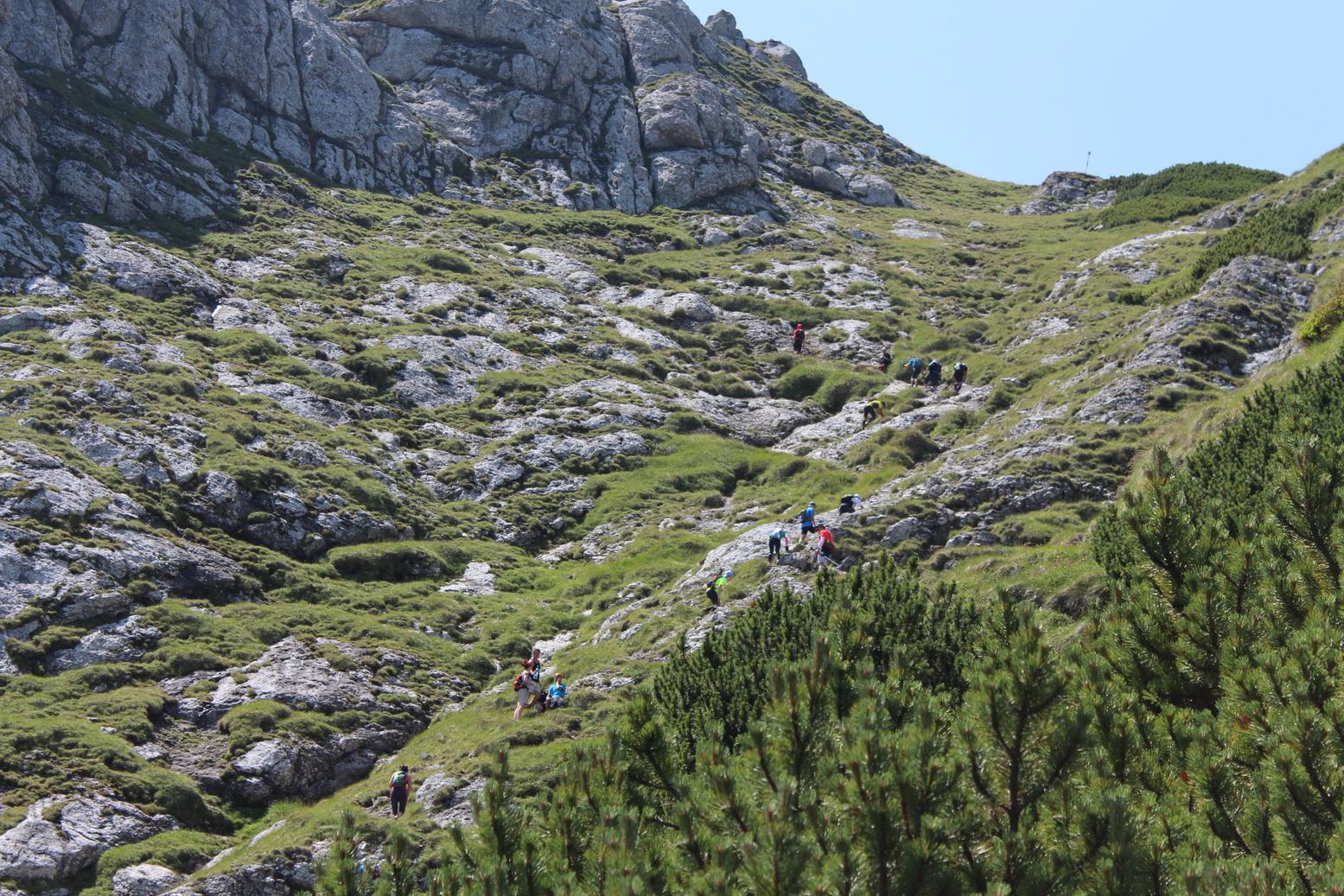 Marathon 7500 w rumuńskich górach Bucegi. Fot.time-it.go.ro