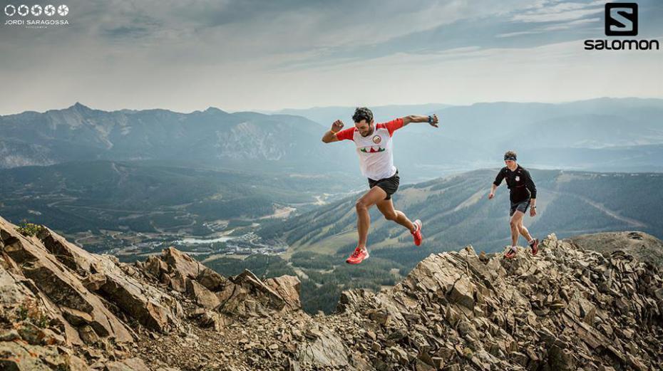 Kilina Jornet w górach. Fot. Summits of my life