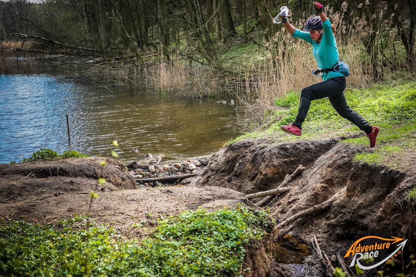 On-Sight Intro 2016 na 60-kilometrowej trasie w Puszczy Zielonce koło Poznania. Zawody odbyły się 16 kwietnia 2016. Fot. Stanisław Ritter