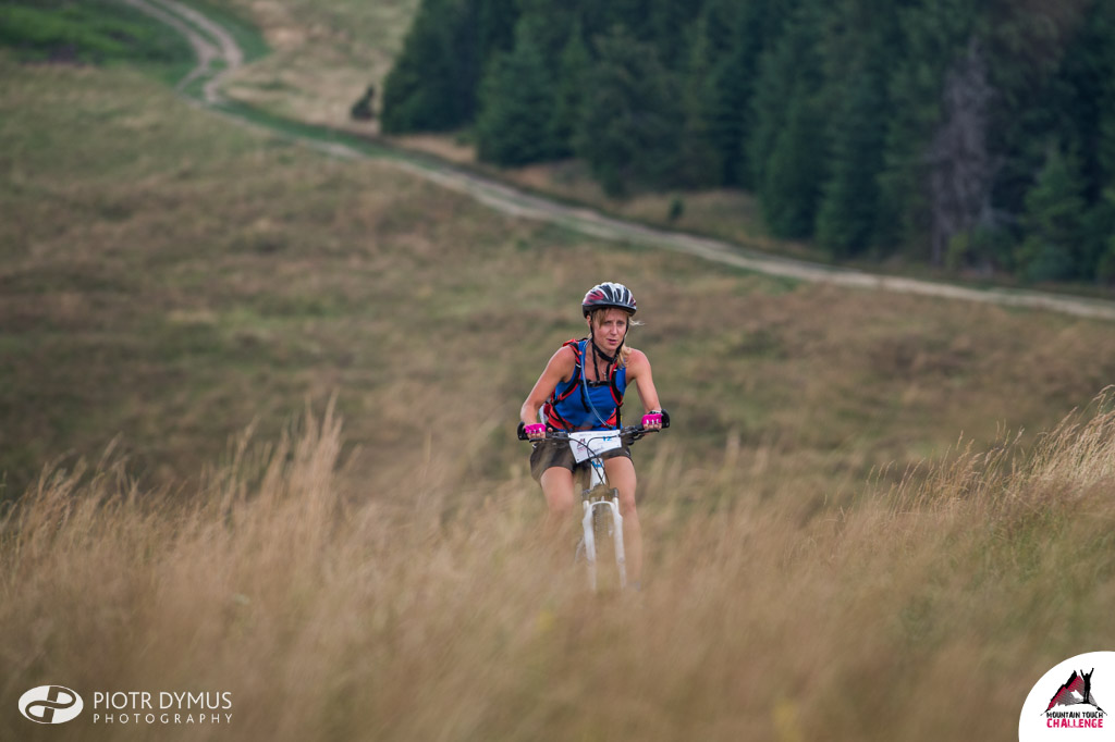 Etap rowerowy na Mountain Touch Challenge. Fot. Piotr Dymus