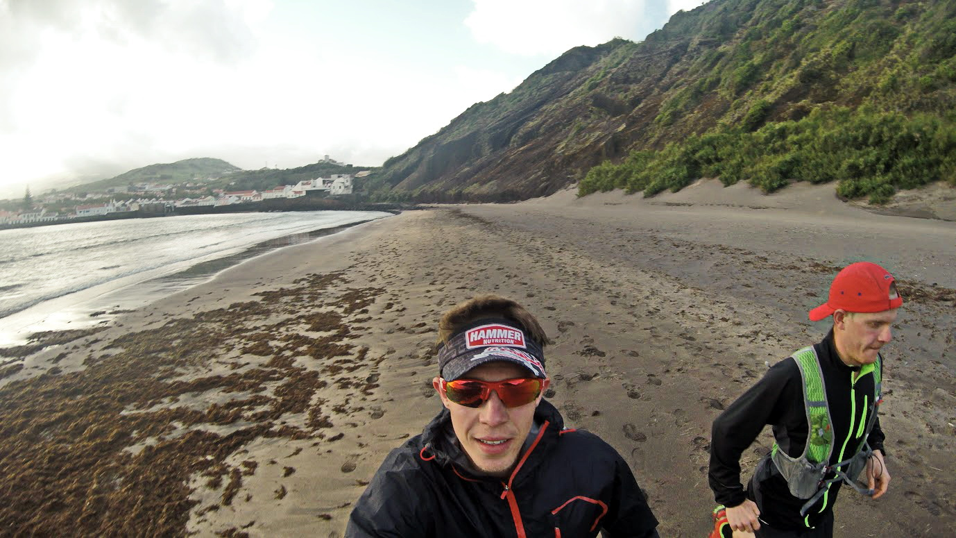 Trening na Azorach. Fot. Kamil Leśniak