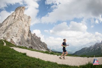 Viola podczas Lavaredo Ultra Trail 2016 Cortina