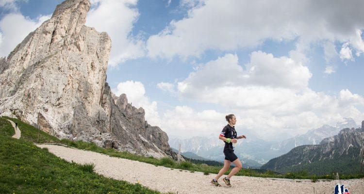 Viola podczas Lavaredo Ultra Trail 2016 Cortina