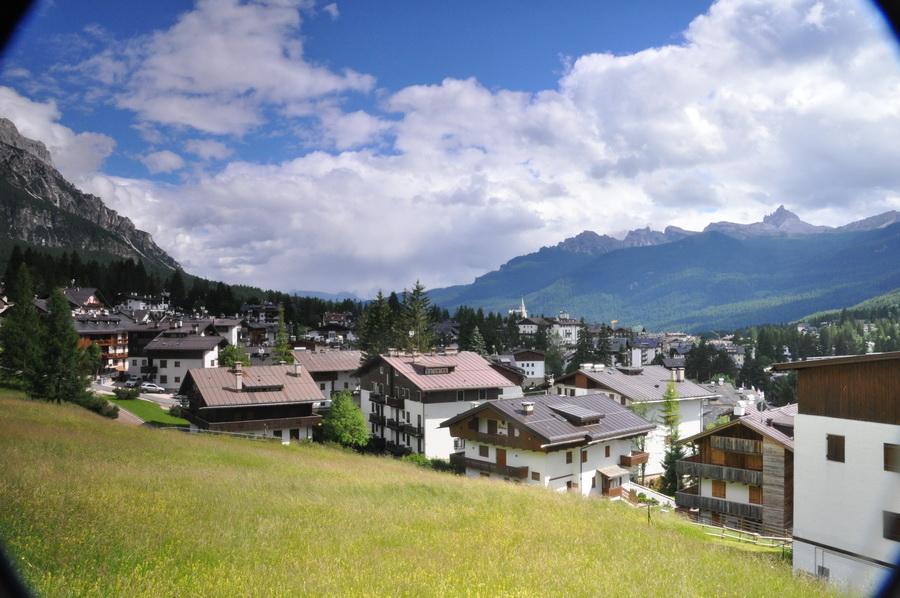 Cortina, jedno z najurokliwszych miasteczek, jakie można sobie wyobrazić. Fot. Ola Belowska