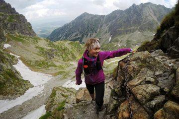Viola podczas treningu w Tatrach. Fot. Ilya Marchuk