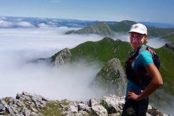 Ewa Majer podczas przygotowań do Ehumilaka w Hiszpanii. Musiała zejść z trasy z powodu rozoranych stóp. Fot. Bartosz Gorczyca