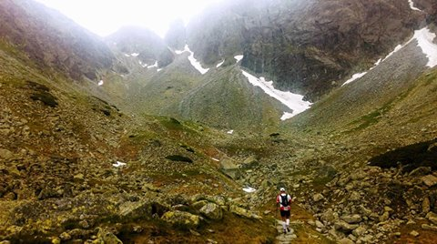 Na trasie etapu pieszego. Fot. Archiwum Mateusza Pietrulińskiego