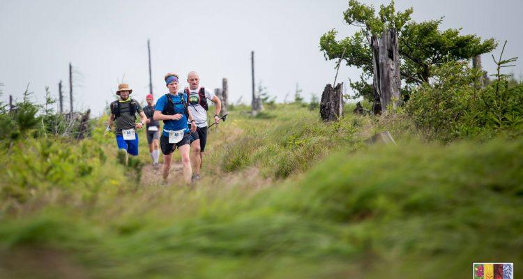 Tamara Mieloch na trasie Maratonu Leśnik. Fot. Karolina Krawczyk