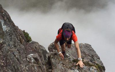 Curved Ridge - 12 km trasy. Zdjęcie z rekonesansu na mokro. Fot.: Alistair Turnham