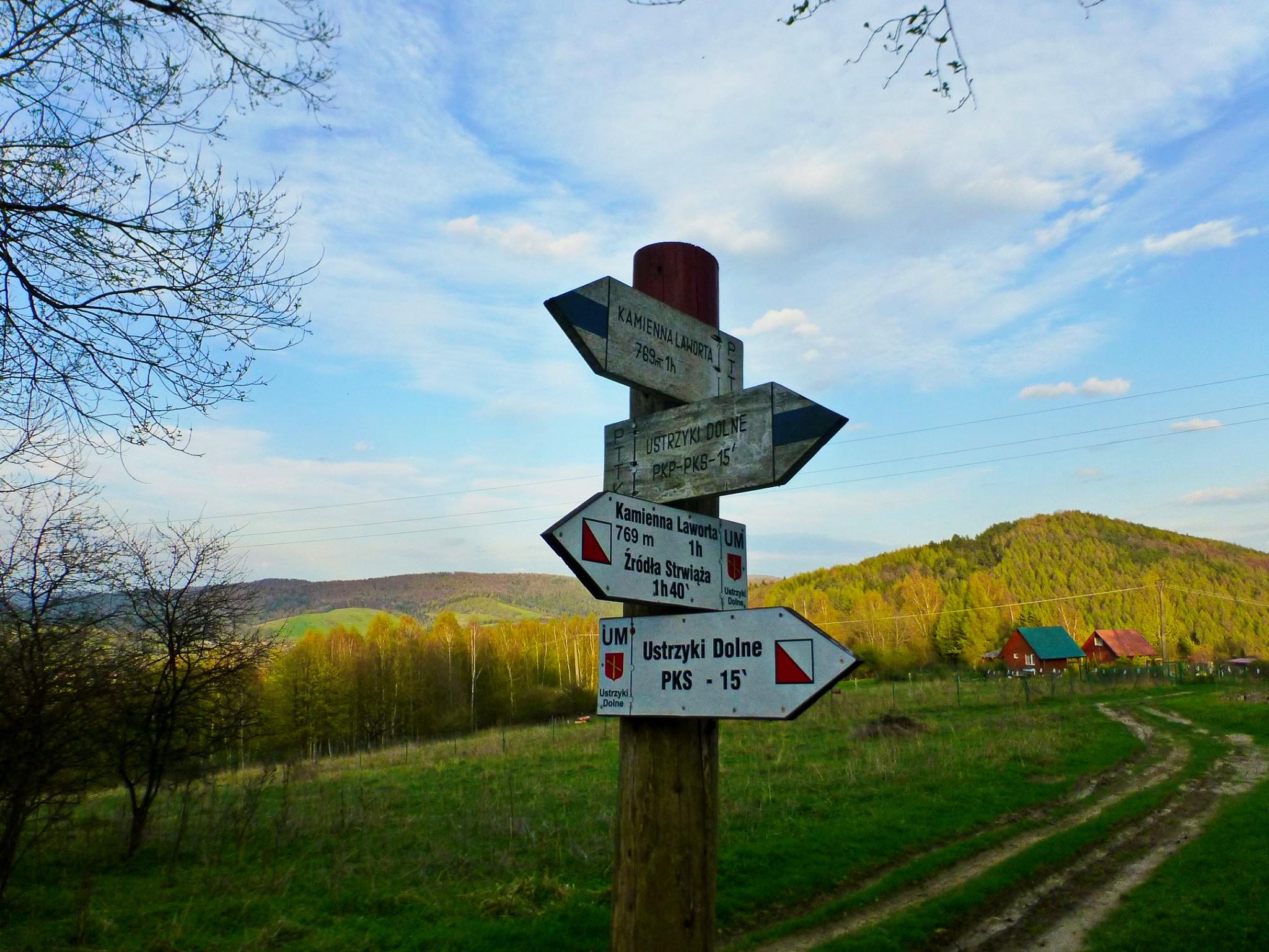 Niebieskie Wyzwanie szlak