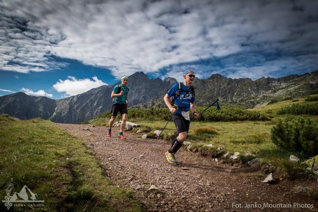 Tadek Podraza na trasie Ultrajanosika Fot. Janko Mountain Photos