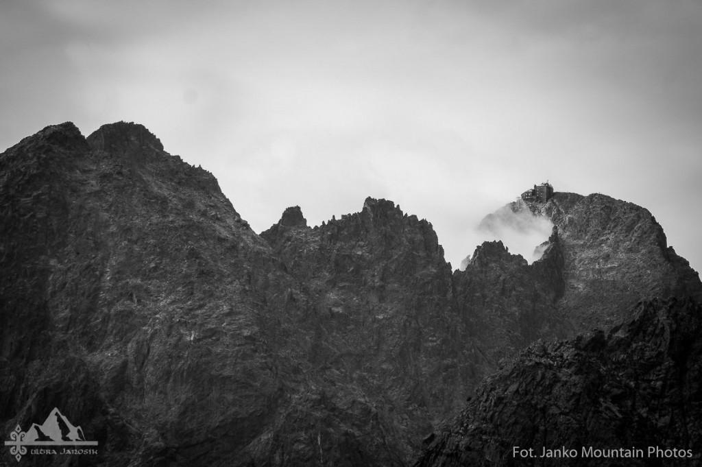 Widok petarda na trasie Ultra Janosika. Fot. Janko Mountain Photos