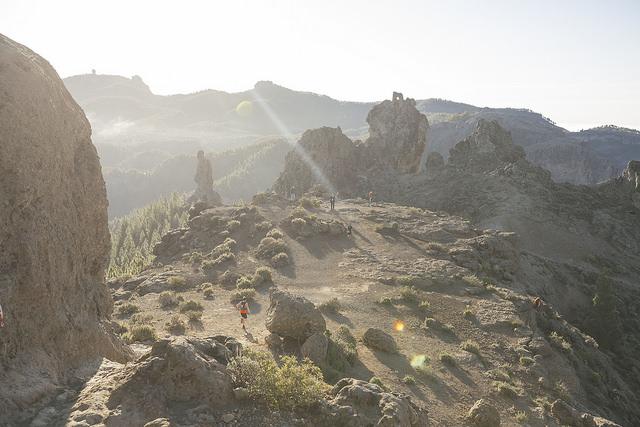 Najpiękniejszy i najwyżej położony fragment trasy Transgrancanarii. Fot. Materiały organizatora