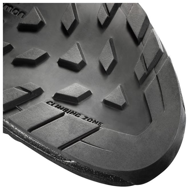 Climbing zone w podeszwie butów Salomona. Fot. Materiały producenta