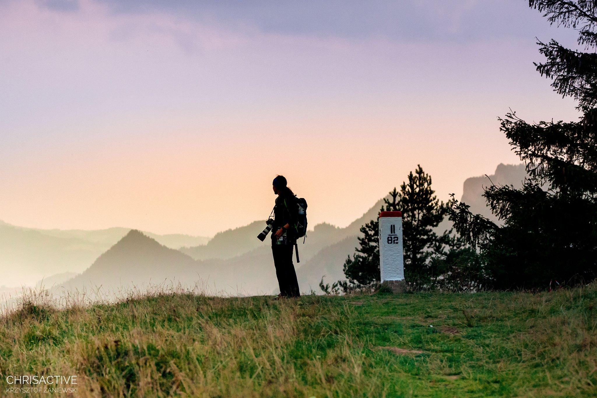Karolina na Mountain Touch Challenge. Fot. Krzysztof Zaniewski
