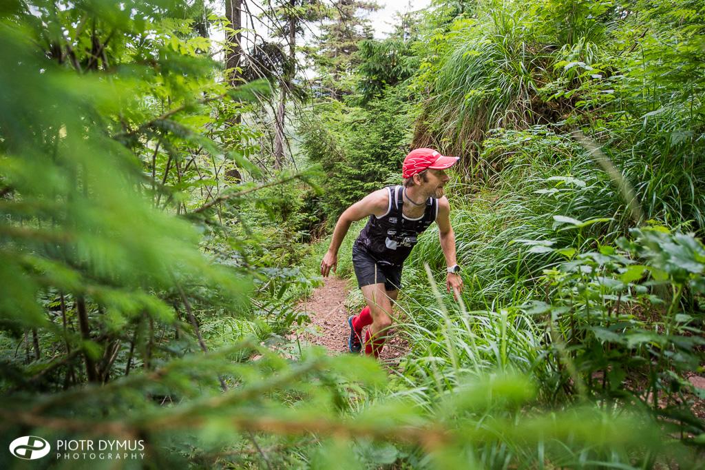 Krzysiek odnalazł się w projekcie nie tylko w roli menedżera i fotografa, ale i biegacza. Fot. Piotr Dymus