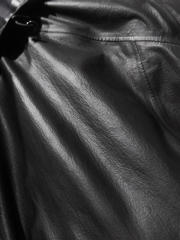 Nietypowa struktura tkaniny przypominająca licowaną skórę. fot.: K. Dołęgowski