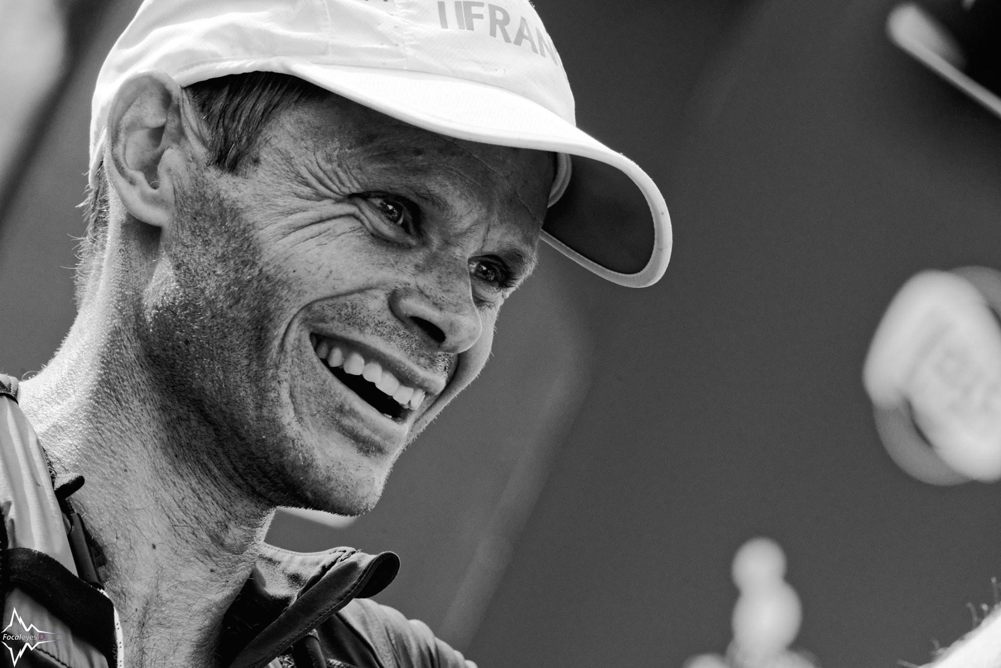 Ludovic Pommeret - zwycięzca tegorocznego UTMB był dopiero 5. na MŚ w Portugalii. Fot. Focaleyes'D - Richard Couret