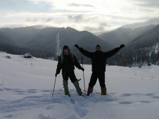 Wyjazd w Karpaty z bratem w 2002 roku. Fot. Archiwum Ilyi