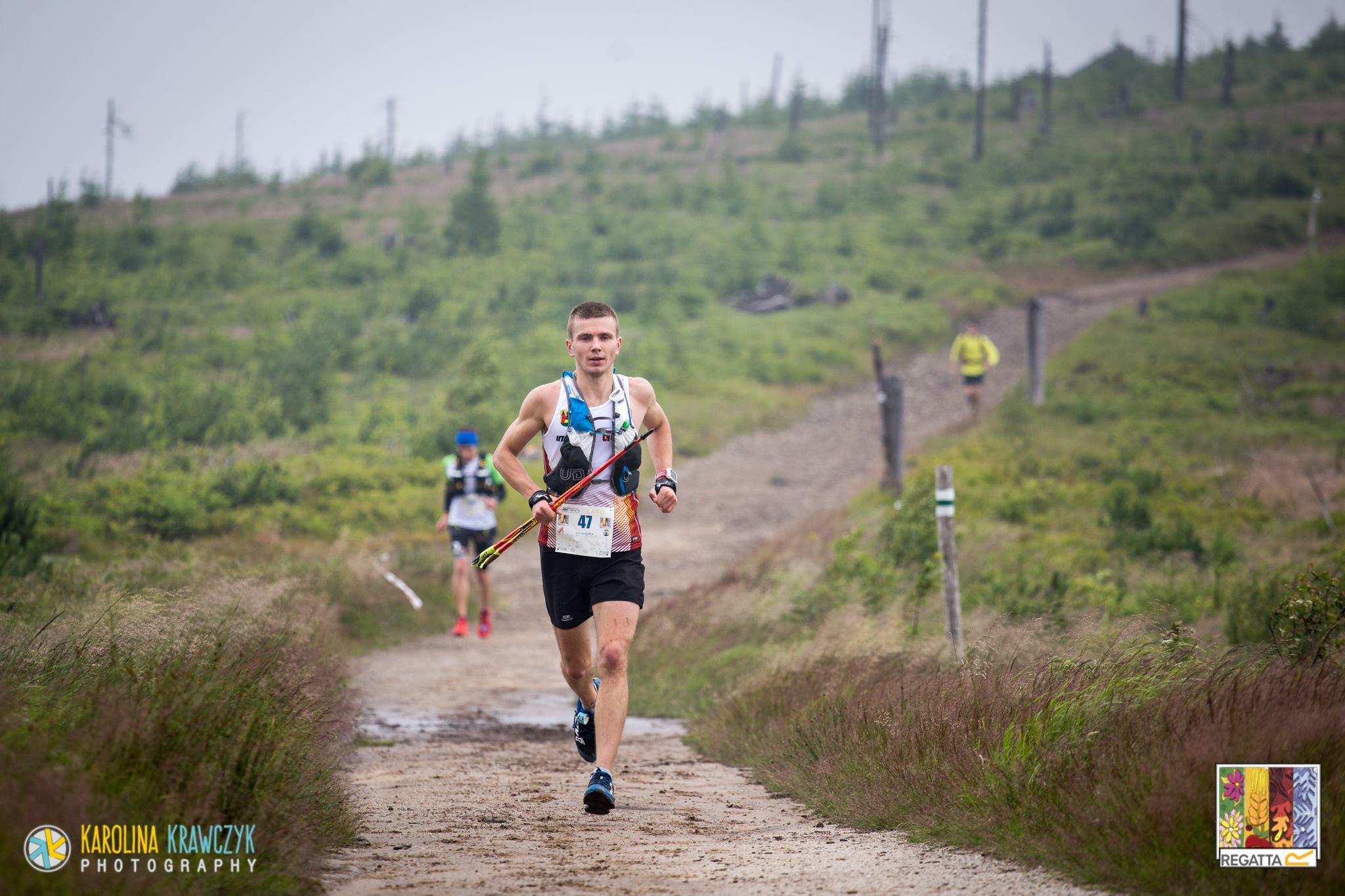 Ilya na Maratonie Leśnik. Fot. Karolina Krawczyk