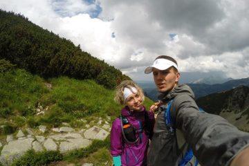 Viola i Ilya na treningu w górach wysokich. Fot. Ilya Marchuk
