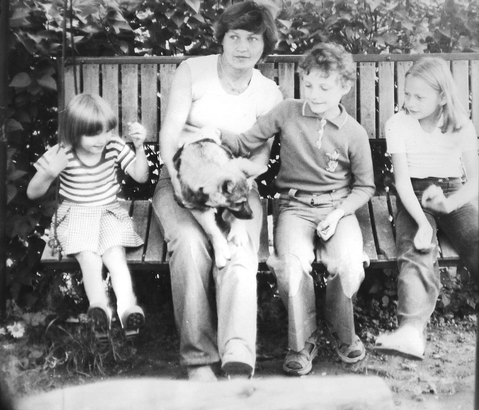 Patrycja z rodziną. Fot. Archiwum Patrycji Berezowskiej
