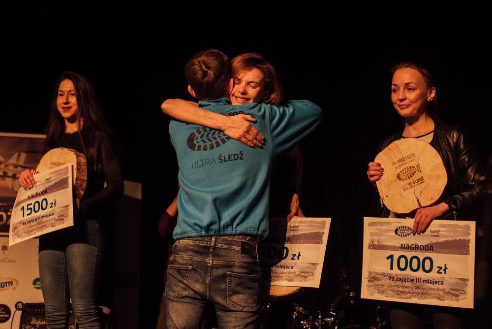 Patrycja na szczycie podium. Fot. Ewelina Lewkowicz-Żmojda