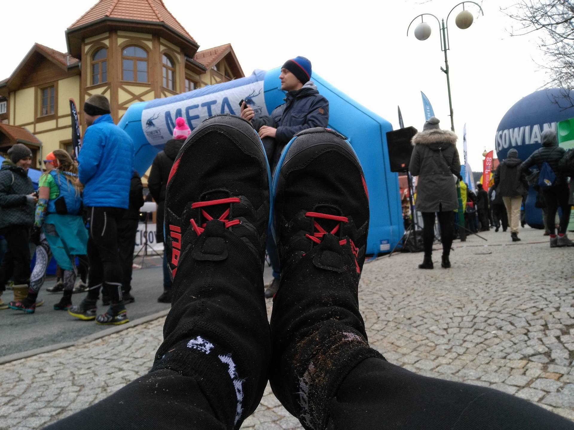Buty, które robiły dokładnie to, co trzeba. Fot. Rafał Adametz