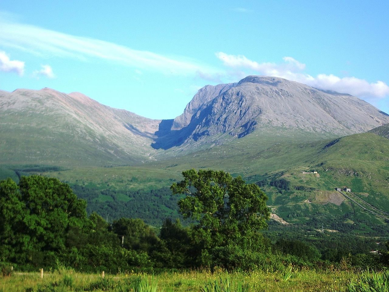 Ben Nevis. Fot. Thincat/Wikimedia Commons