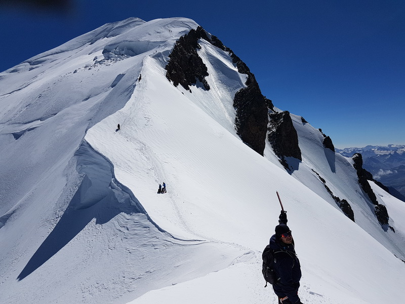 Przed szczytem Mont-Blanc Krzysztof Borgieł_resize