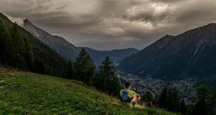 Przed startem CCC w Chamonix. Fot. Piotr Oleszak