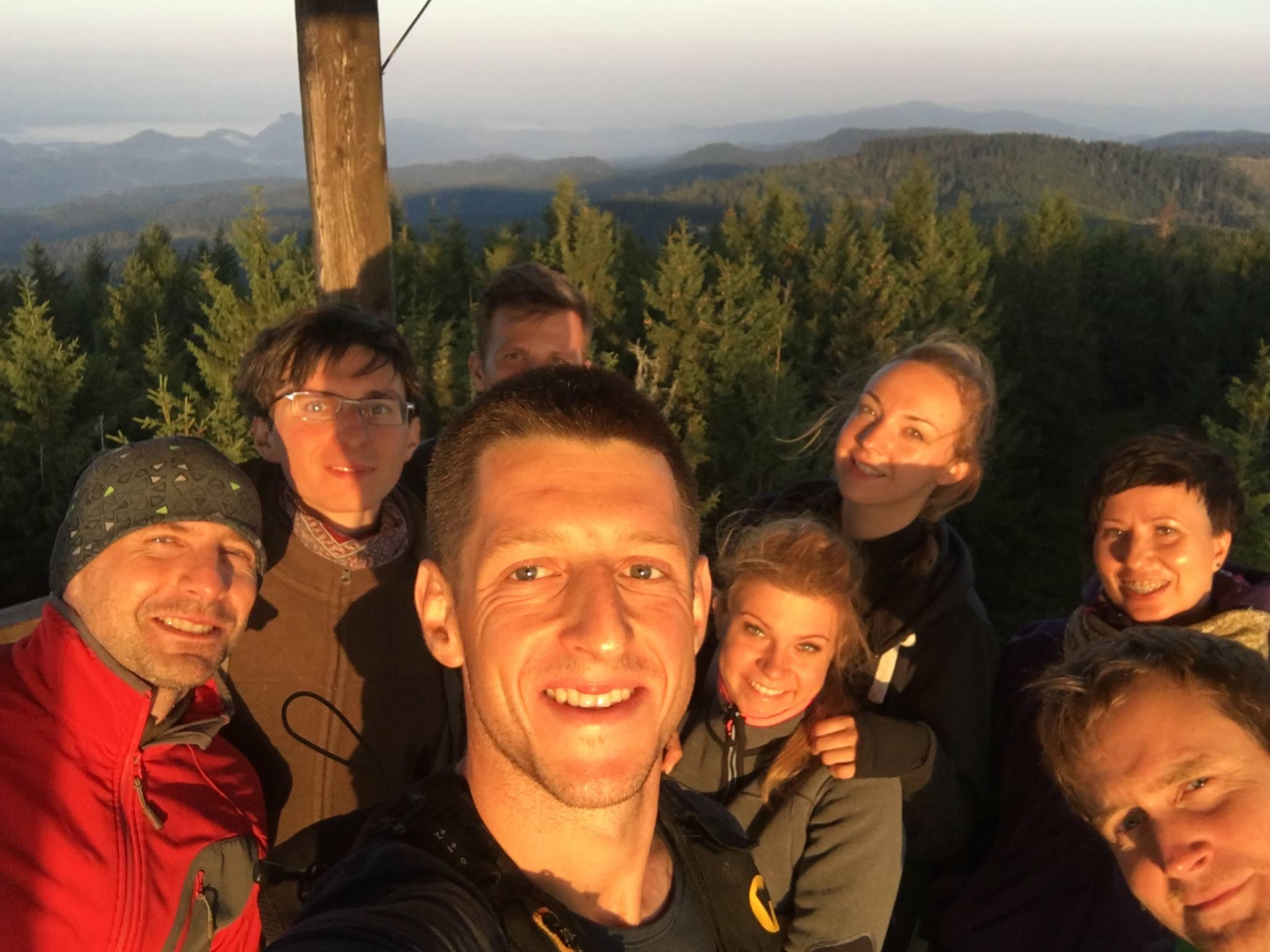 """Z Fb: """"24. Radziejowa Beskid Sądecki Dzień dobry! Pozdro dla ekipy, która także szczytowała o wschodzie!"""""""